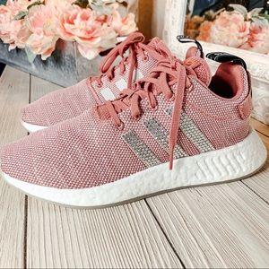 Custom Jeweled Adidas